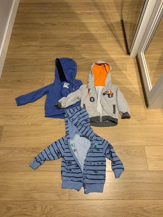 3x bluza z kapturem, chłopiec, rozmiar 92, 98, Lupilu i inne Kraków - image 1