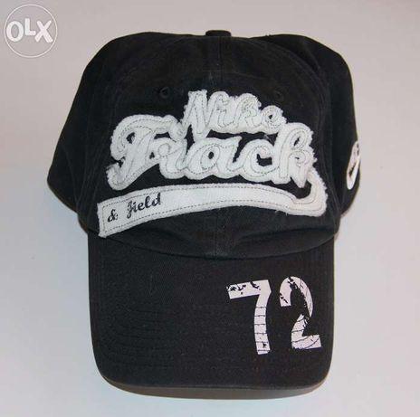 NIKE czarna czapka z daszkiem