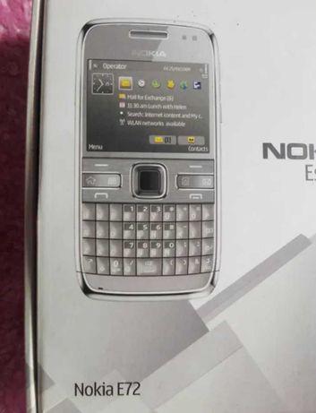 Starocie po porządkach Nokia e72 pudełko instrukcja 8910i