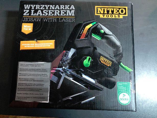 Wyrzynarka z laserem 710W Niteo Tools