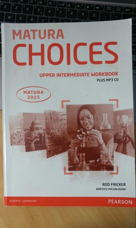 Matura Choices Upper Intermediate Workbook