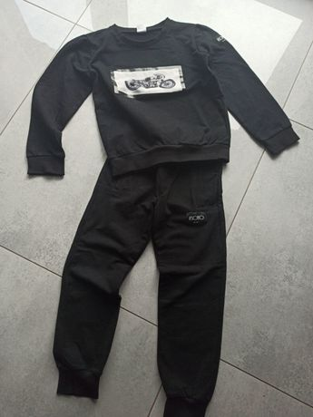 Czarny dres Soho Kids