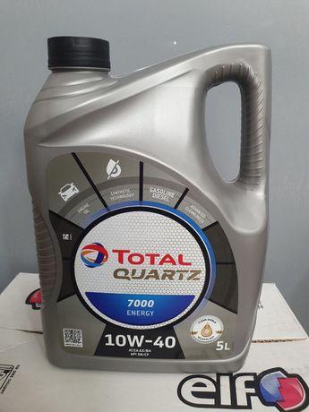 Моторне масло Total 7000  10w40 qvartz energy
