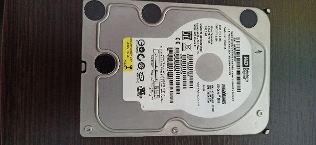 Продам Жесткий диск WD5000AAKS 500GB