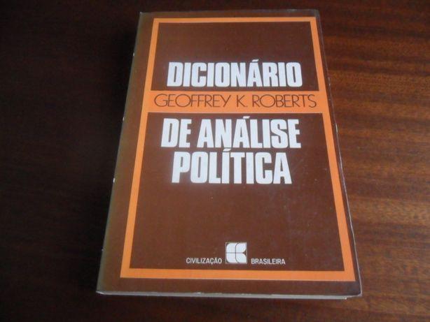 """""""Dicionário de Análise Política"""" de Geoffrey K. Roberts"""