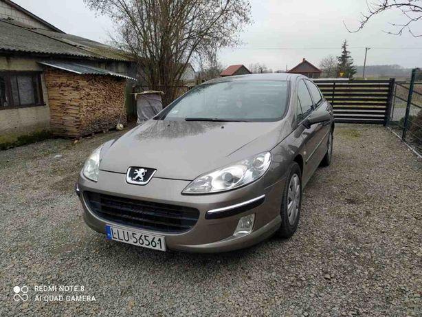 Peugeot 407 1.6HDi 2005r Hak