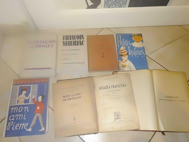 Sprzedam książki do języka francuskiego