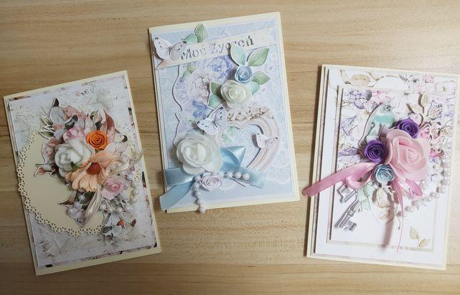 Kartki ręcznie robione/handmade/scrapbooking