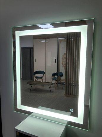 Зеркало с LED подсветкой D-3 (683х800)