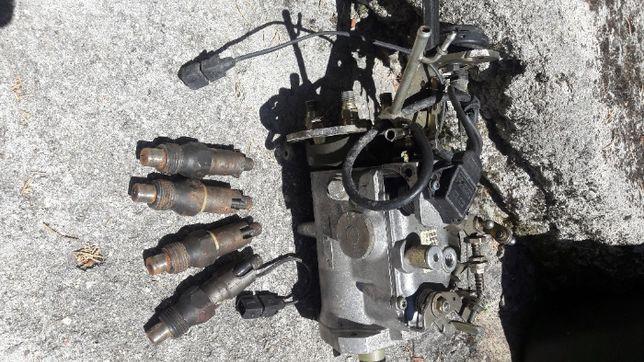 Bomba de gasóleo com 4 injetores