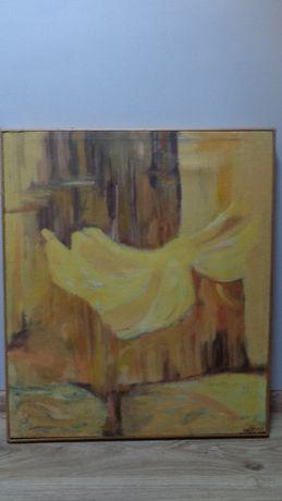 Abstrakcja- olej na płótnie 60 x 70