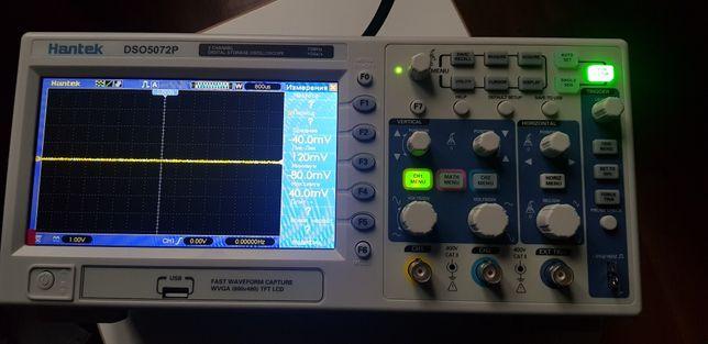 Цифровой осциллограф HANTEK DSO5072P (работает до 200МГц!) Новый