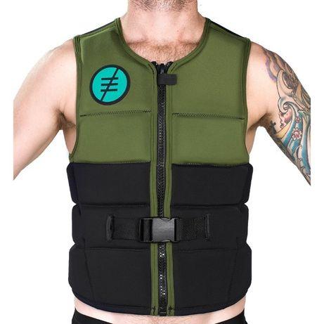 жилет RideEngine Atlas Impact Vest Green