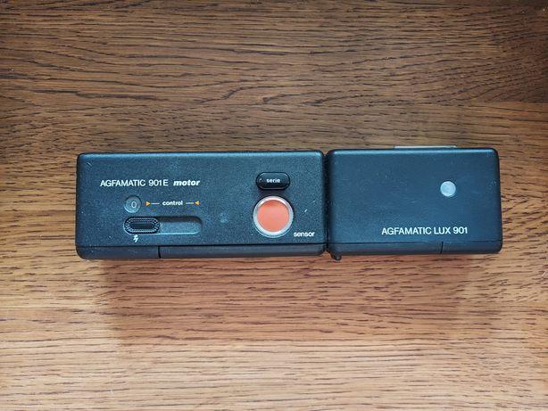 AGFAMATIC 901 E motor z lampą błyskową AGFAMATIC LUX 901. Wysyłka.