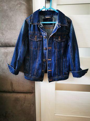 Katana, kurtka jeansowa Zara roz 122