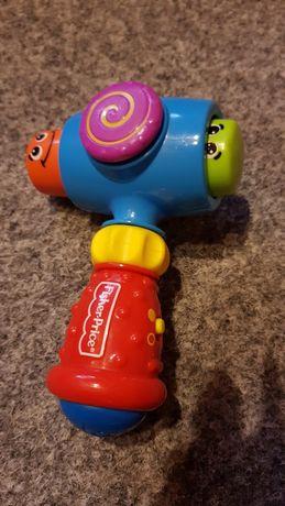 Młotek interaktywny wydaje dźwięki super zabawka dla malucha