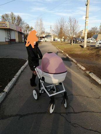 Универсальная дитяча коляска 2 в 1 Angelina Amadeo
