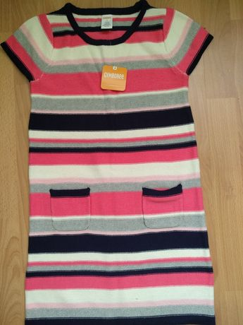 Теплое вязаное платье Gymboree 10-12 лет