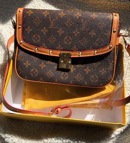 Nowa torebka Louis Vuitton brązowa