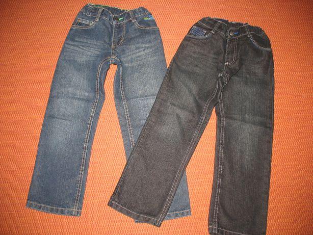 Jeansy dla chłopca roz. 116