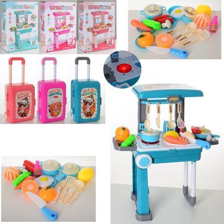Игровая КухняСтолик и чемодан 2в1