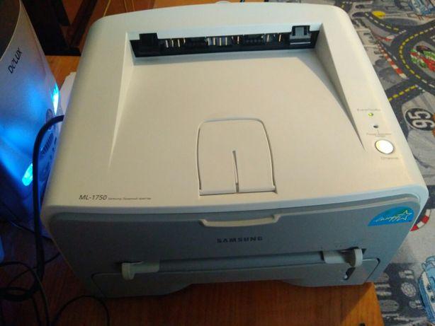 Принтер лазерный Samsung ML-1750 в хорошем состоянии