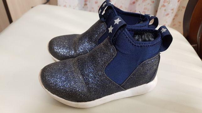Ботинки хайтопы H&M девочке 25 размер