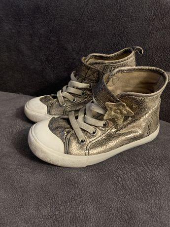 Хайтопы HM кеды высокие кроссовки 24 размер
