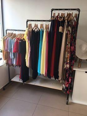 Wieszak na ubrania industrial loft 1,8 x 1,5 x 0,5m