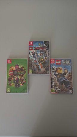 Jogos Lego Nintendo Switch (Novos e Selados)