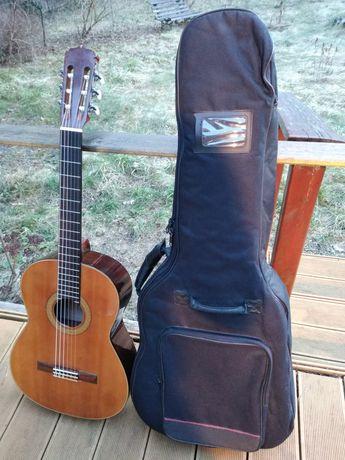 Gitara klasyczna Aria AC-6 made in Japan Basowa potęga !! Pokrowiec