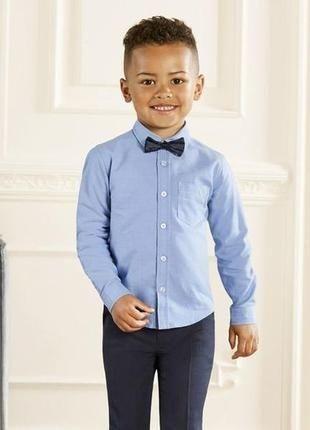 Стильная рубашка хлопок на мальчика 2-4года