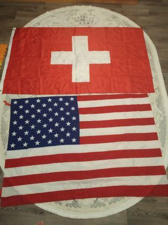 Флаг Швейцарии новый