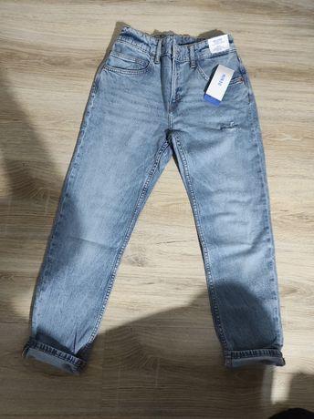 Dżinsowe spodnie 152