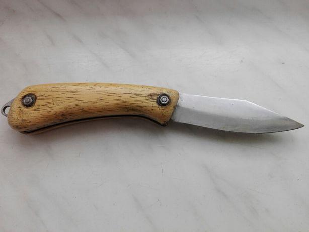 Stary nóż kolkcjonerski-myśliwski firmy Eka