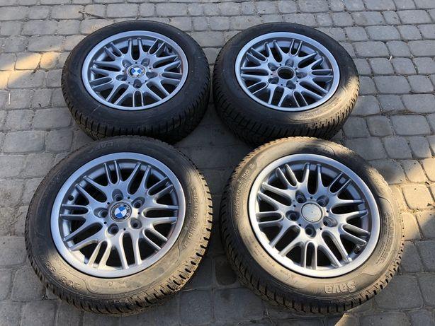 Koła felgi alufelgi 16' BMW 5x120 nowe opony e46 e36 Sava eskimo