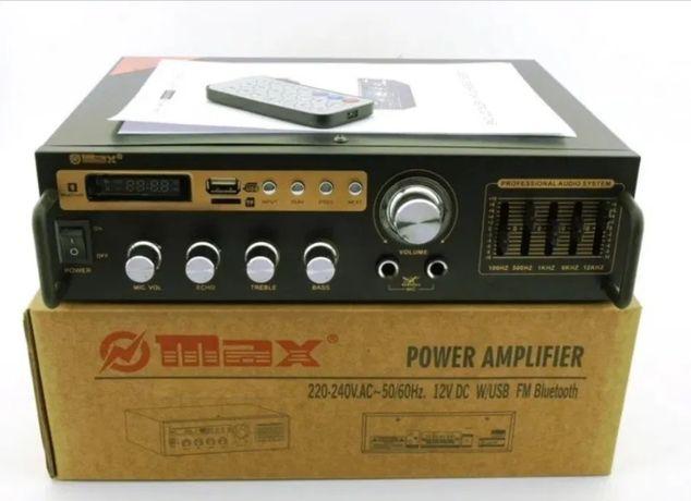Підсилювач.Усилок под колонки 25-50 Вт / Усилитель звука MAX. Ресивер.