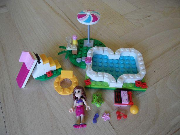 Klocki Lego Friends - Ogrodowy Basen Olivii 41090 - Łódź