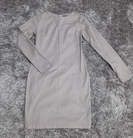 Szara sukienka S