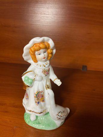 статуэтка Девочка и гусь