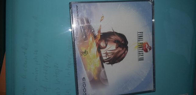 final fantasy VIII 8 5xCD Z BIG BOXA