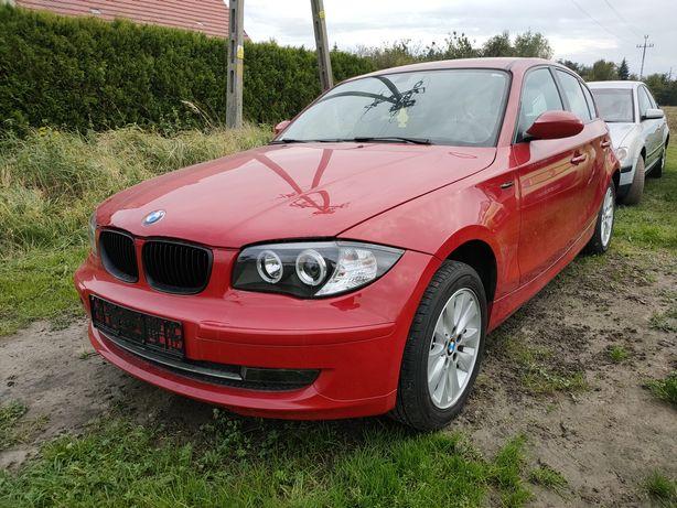 BMW 116i uszkodzony
