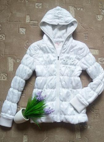 Куртка деми, зима для девочки, девушки. Белая. Gloria Jeans. 164-170см