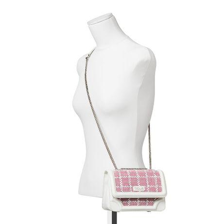 Mala de tiracolo pequena Obraian TOUS Pele cor branco-rosa