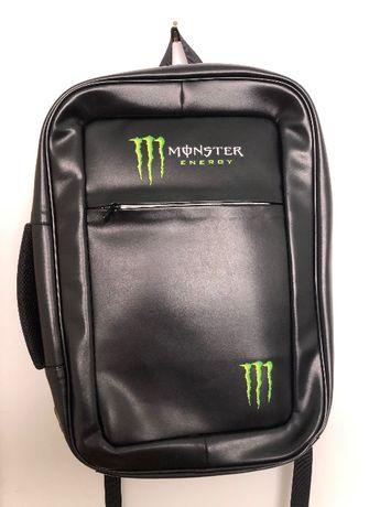 Mochila nova de cabedal Monster Energy - gaming portátil informática
