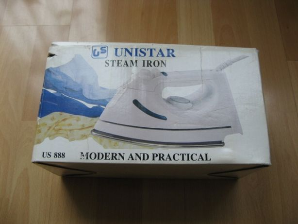 Żelazko UNISTAR Steam Iron Modern and Practical