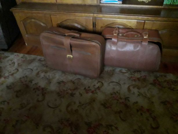 Stare walizki z lat 50-60