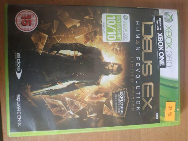 Gra Deus Ex Human Revolution (limited edition) XBOX 360