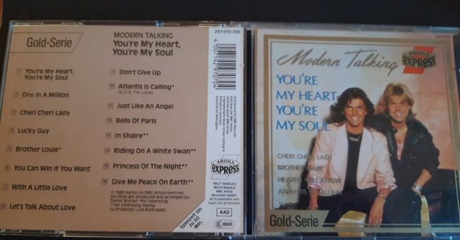 Modern Talking – You're My Heart, You're My Soul, CD 1988 Germany