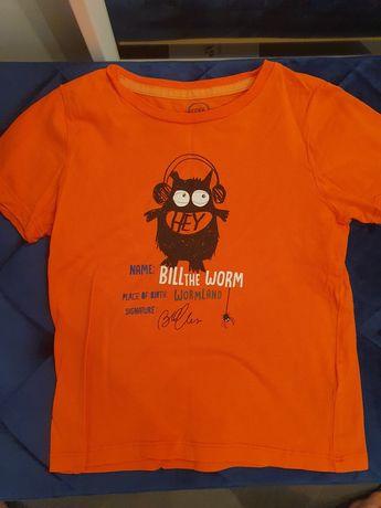Pomarańczowa koszulka Smyk